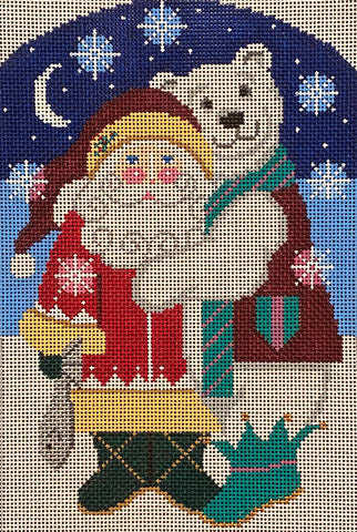 Santa's Gift with stitch guide