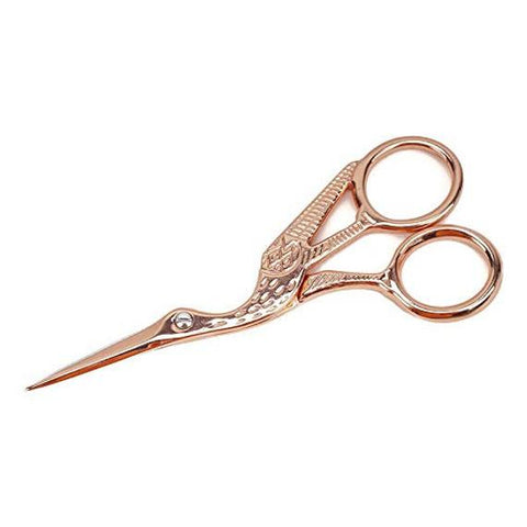 Rose Gold Stork Scissors