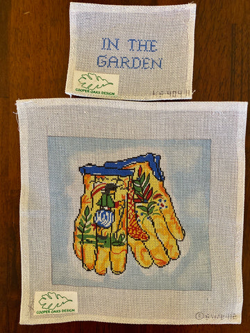 Quimper Gloves & In the Garden Sign