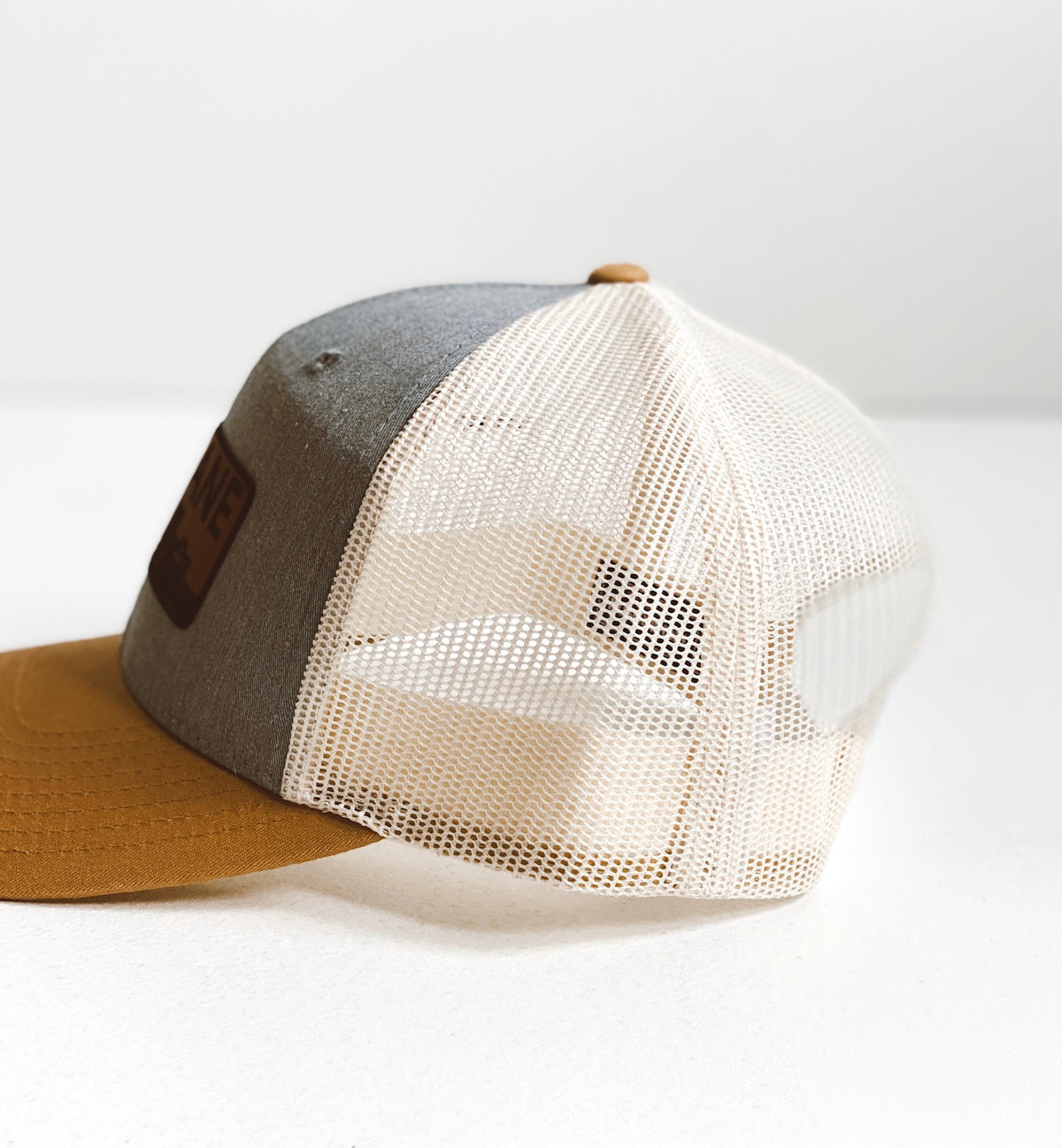 Spokane Leather Patch Hat