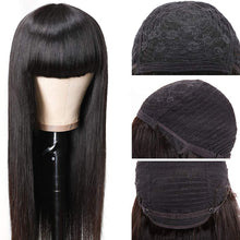 Load image into Gallery viewer, 150% Brazilian Virgin Straight Human Hair Wigs
