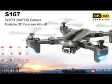 Load and play video in Gallery viewer, S167 GPS Drone With Camera 5G RC Quadcopter Drones HD 4K WIFI FPV