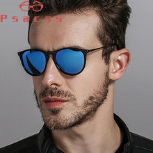 Load image into Gallery viewer, Psacss Round Polarized Sunglasses Men Driving Fishing Sun Glasses Male Top Brand Vintage Sunglass Lunette De Soleil Homme UV400
