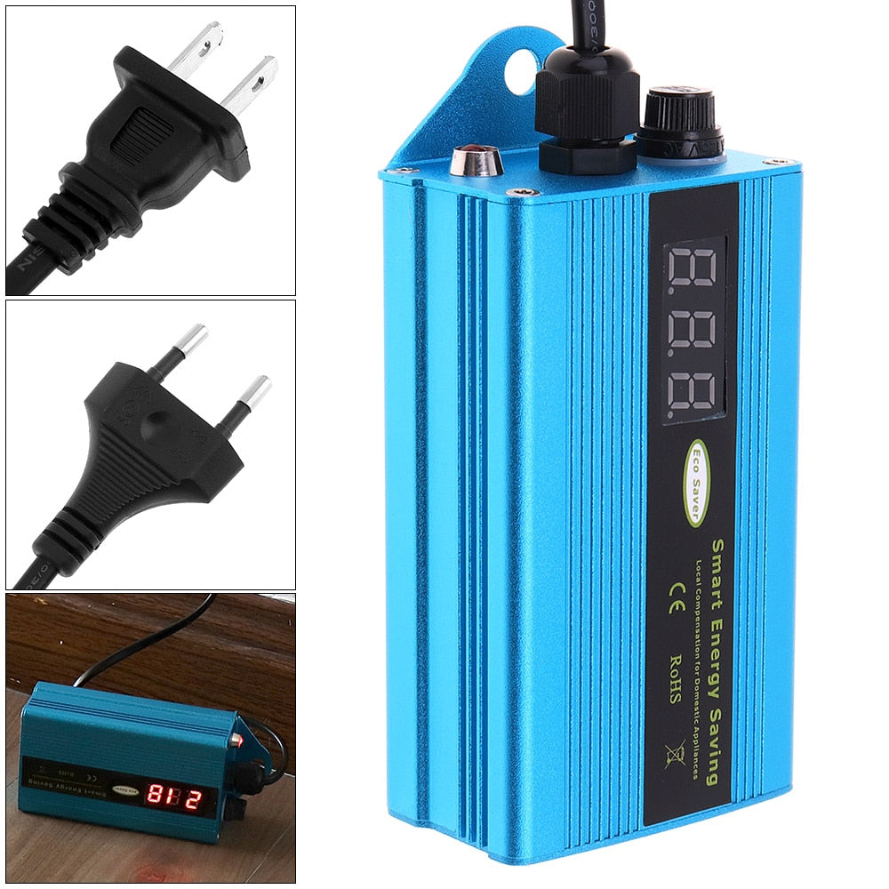 50 KW Smart Electricity Saving Box Power Energy Saver - Electricity Bill Killer Up to 35%