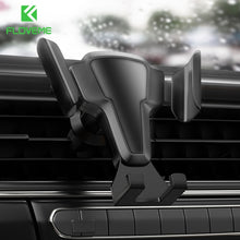 Load image into Gallery viewer, FLOVEME Phone Holder Auto Lock Car Phone Holder Air Vent Clip Mount Stand No Magnetic Gravity Mobile Phone Stand Support  In Car