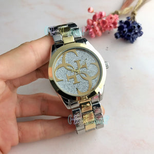 Luxury Hot Sale brand Ladies watches Silver Gold Full Steel Quartz Watch Female black Clock Montre Femme Relogio Feminino