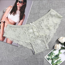Load image into Gallery viewer, Sexy Lace Panties Women Fashion Cozy Lingerie Tempting Briefs High Quality Women's Underpant Low Waist Intimates Underwear