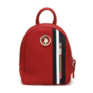 FLO US20279 Red Women 'S Backpack U.S. POLO ASSN.