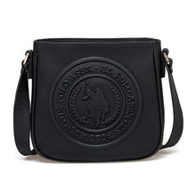 Load image into Gallery viewer, FLO US20314 Black Women Messenger Bag U.S. POLO ASSN.