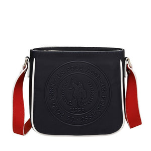 FLO US20314 Black Women Messenger Bag U.S. POLO ASSN.
