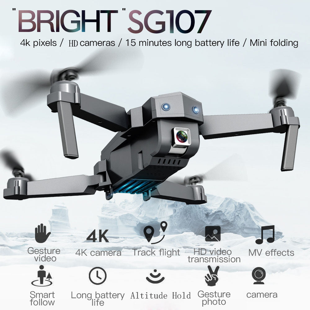 2020  Drone  Folding Drone 4k Wifi Fpv Hd Camera Quadcopter Altitude Hold Head Mode Lightweight Wifi Function