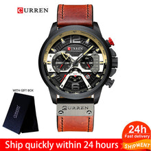 Load image into Gallery viewer, CURREN Watch Men