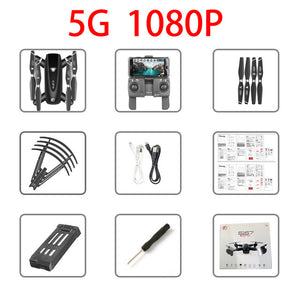 S167 GPS Drone With Camera 5G RC Quadcopter Drones HD 4K WIFI FPV