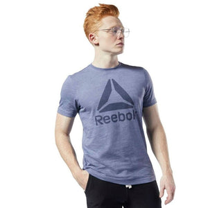 Reebok Te Marble Bl Tee Male Training T-Shirt EC0785