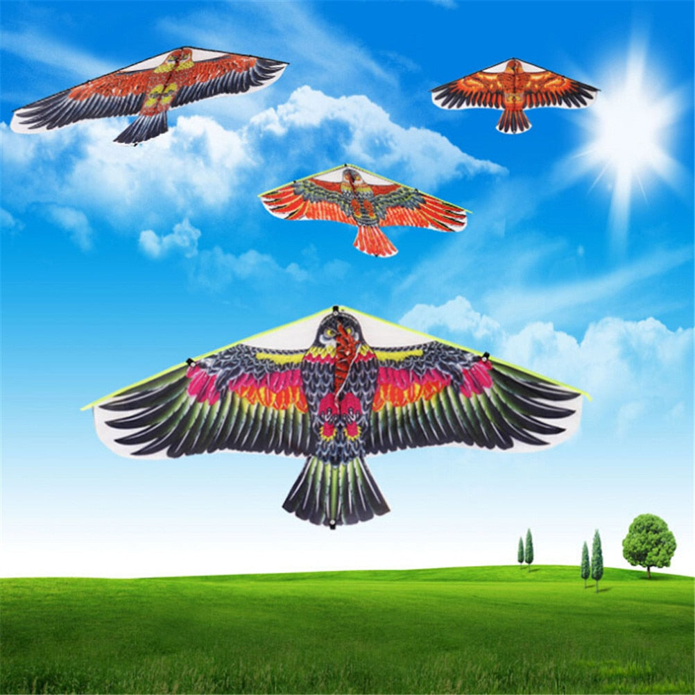 1Pc 102*45cm Flying Bird Kites Windsock Outdoor