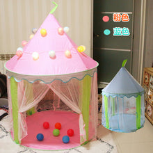 Load image into Gallery viewer, Free Shipping Princess Children's Tent Indoor Play House Baby