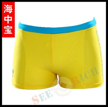 Load image into Gallery viewer, Top Children Cute Cartoon Boxer Trunks Swimwear Cartoon Board Shorts Boy's Beach Hot Springs Swimwear for 1-10ages