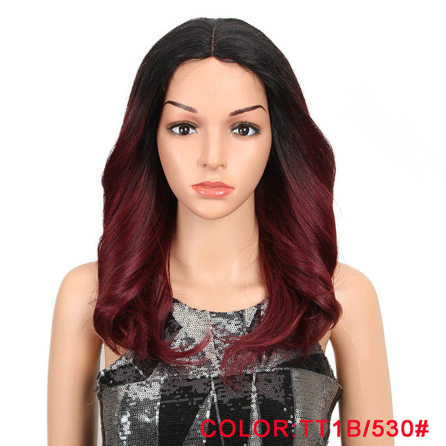 MAGIC Hair 150% Density Ombre Loose Hair Synthetic Lace Wigs 18