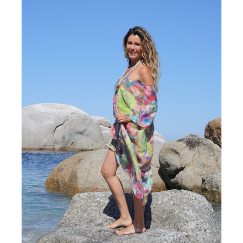 colourful summer kaftan