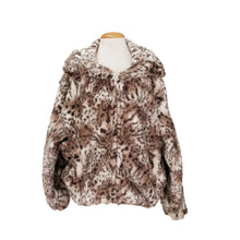 Load image into Gallery viewer, Bomber Hoodie Jacket (Animal Print)
