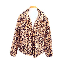 Load image into Gallery viewer, Jean Jacket (Cheetah)