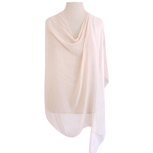 White & Beige Ombre Poncho - Dammit Janet