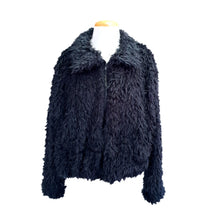 Load image into Gallery viewer, Shaggy Bomber (Black)