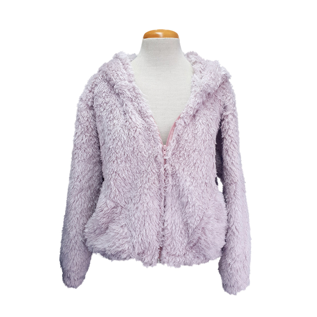 Bomber Hoodie Jacket (Orchid)