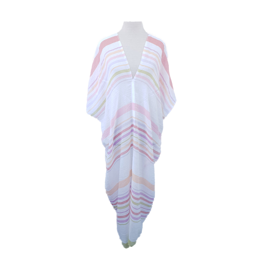 Pink Multicolour Stripe