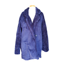 Load image into Gallery viewer, Teddy Bear Jacket (Navy)