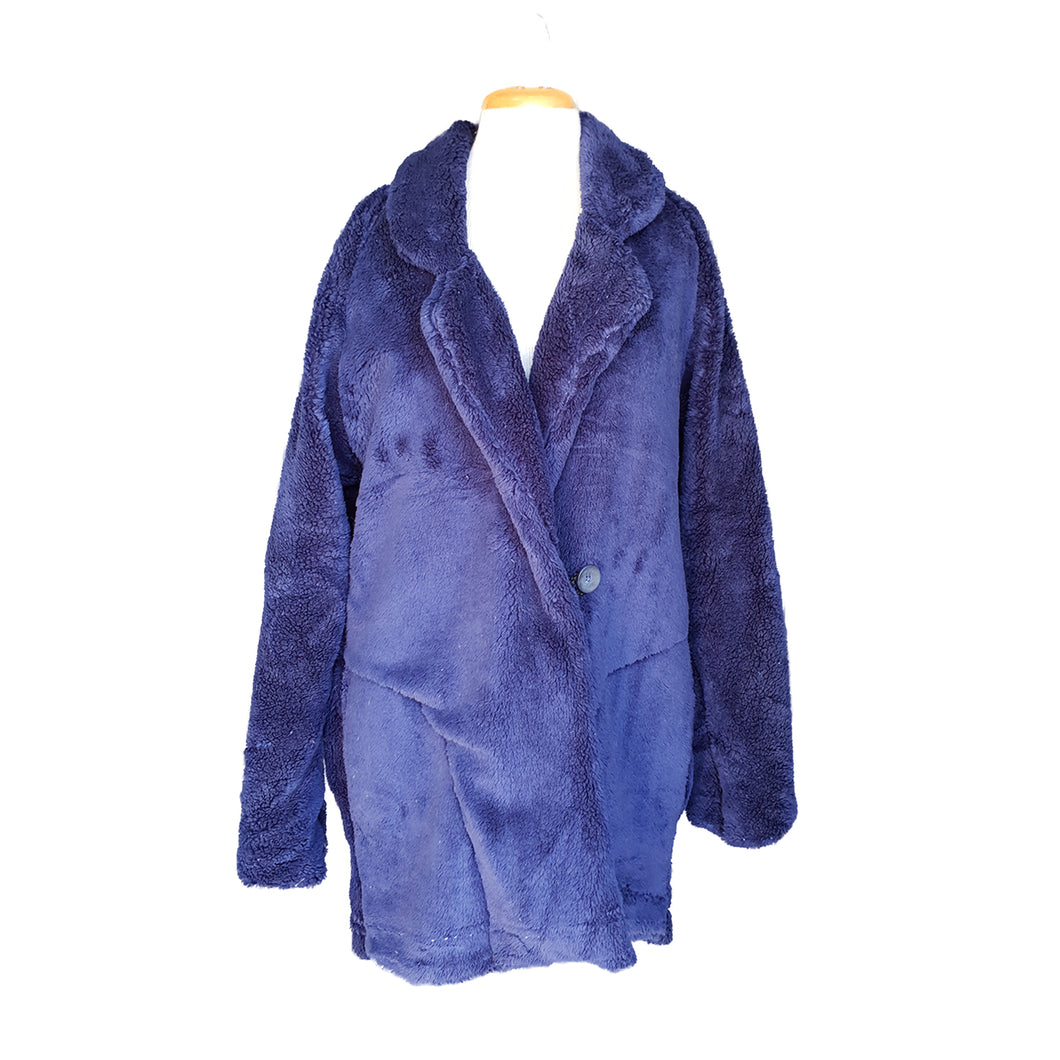 Teddy Bear Jacket (Navy)