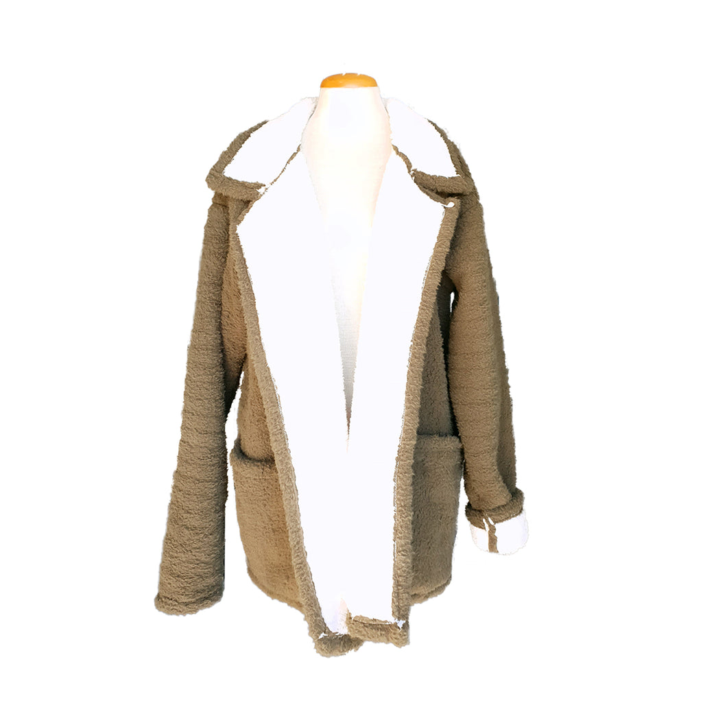 Sherpa-lined Jacket (Olive)