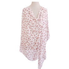 Load image into Gallery viewer, White & Pink Floral Poncho - Dammit Janet