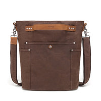 Davan Waxed Canvas Shoulder Bag