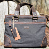 Davan Canvas Messenger Bag