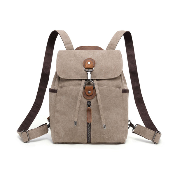 Davan Multifunctional Canvas Backpack