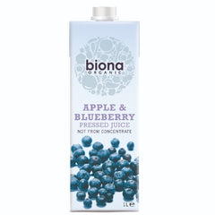 Biona Organic Apple & Blueberry Juice (1L) - Hatton Hill