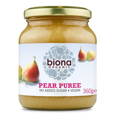 Biona Organic Pear Puree (360g) - Hatton Hill