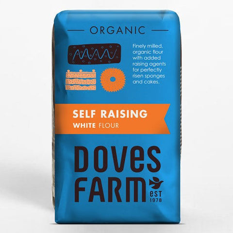 Doves Farm Organic Self Raising White Flour - Hatton Hill