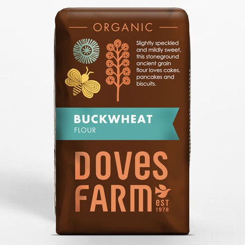 Doves Farm Organic Stoneground Wholemeal Buckwheat Flour - Hatton Hill
