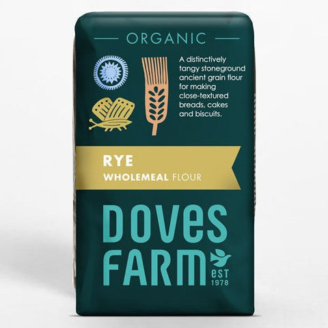 Doves Farm Organic Stoneground Wholemeal Rye Flour - Hatton Hill