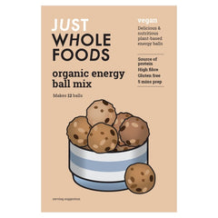 Just Wholefoods Organic Energy Ball Mix (270g) - Hatton Hill
