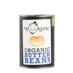 Mr Organic Butter(Giant) Beans Cooked 400g