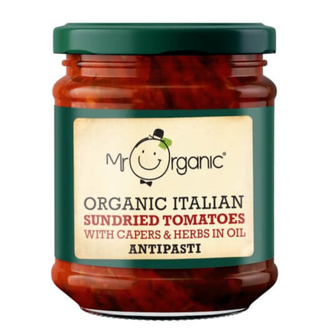 Mr Organic Italian Sundried Tomatoes Antipasti 190g