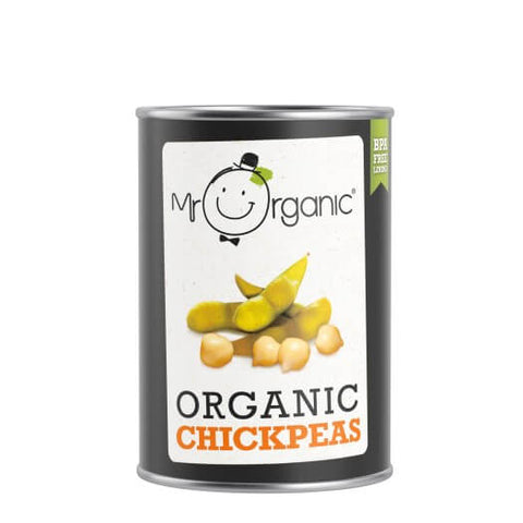 Mr Organic Chick Peas 400g