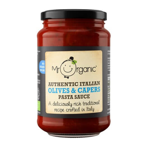 Mr Organic Italian Olives and Capers Pasta Sauce