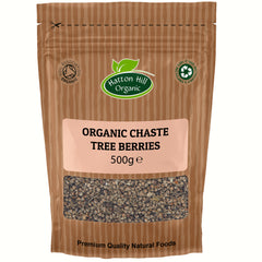 Organic Chaste Tree Berries - Hatton Hill