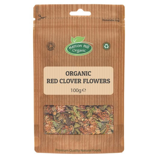 Organic Red Clover Flowers