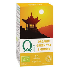Qi Organic Green Tea & Ginger - Hatton Hill