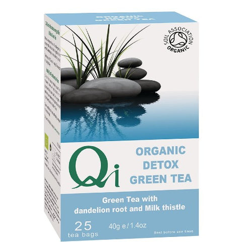 Qi Organic Green Tea Detox - Hatton Hill